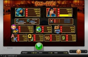 gold of persia spielen